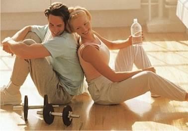 Entrar para uma academia é começar um namoro
