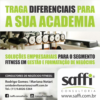 Saffi Consultoria – Soluções estratégicas para academias