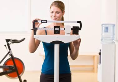 Avaliação física de academia e personal trainer